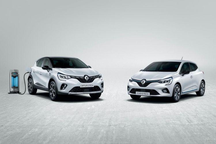Renault Clio и Captur стали гибридами