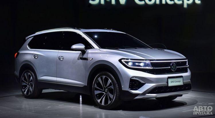 Volkswagen выпустит большой вседорожник