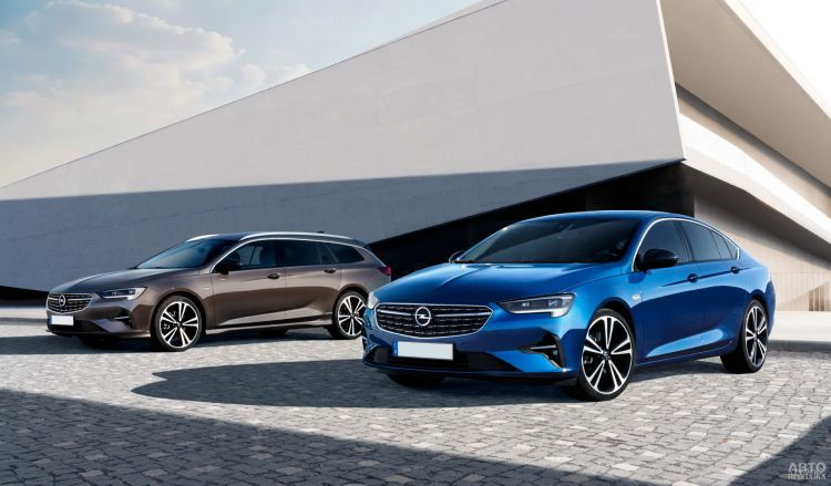 Opel Insignia: обновление