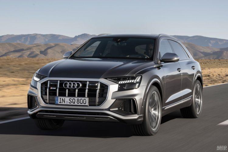 Audi SQ7 и SQ8 станут мощнее и быстрее