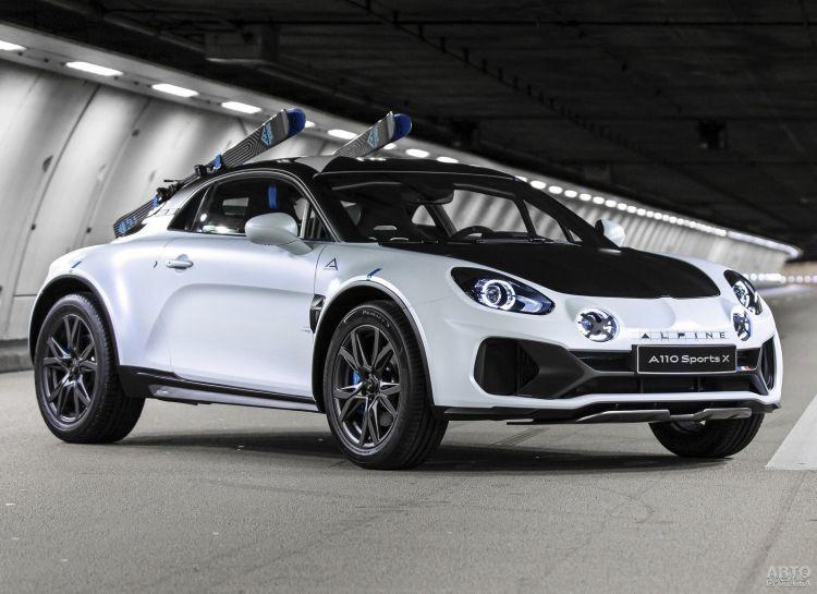 Alpine A110 получил вседорожную версию