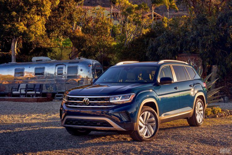 Volkswagen Atlas: модернизация