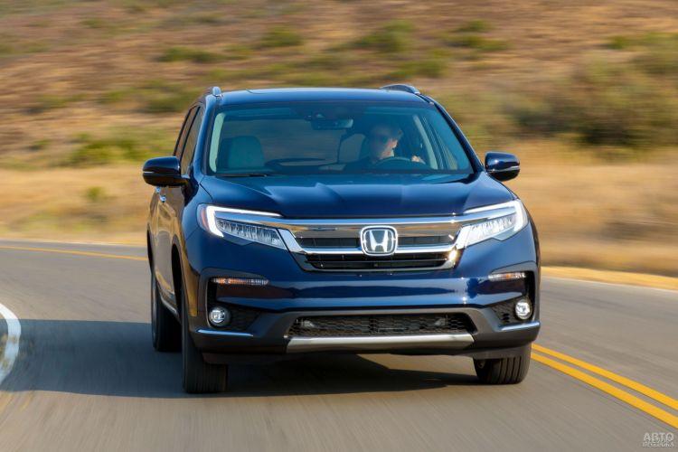 Honda Pilot, Mazda CX-9 и Toyota Highlander: для большой семьи