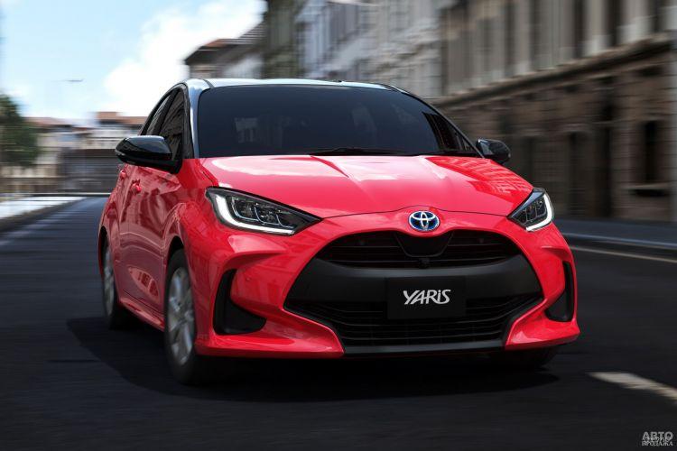 Toyota Yaris: смена поколений