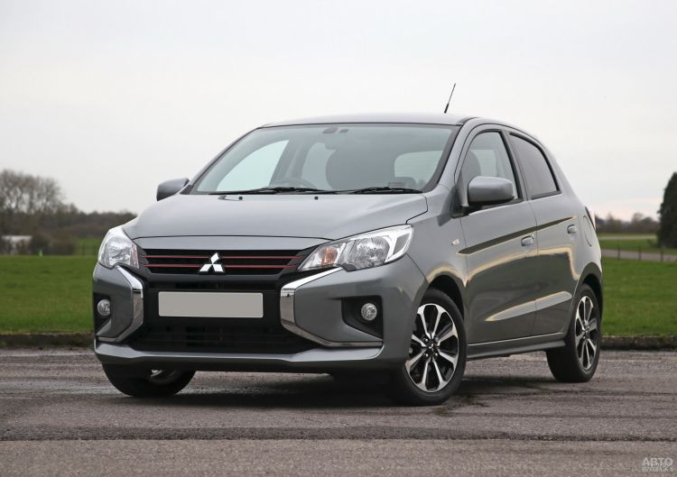 Mitsubishi Mirage: повторное обновление