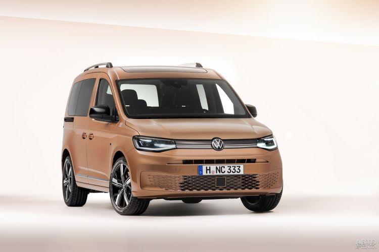Новый Volkswagen Caddy рассекречен перед премьерой