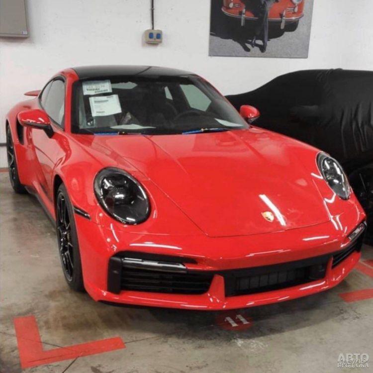 Новый Porsche 911 Turbo рассекречен