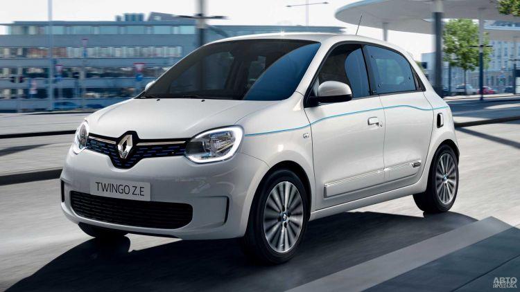 Renault Twingo стал электромобилем