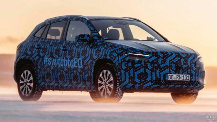 Mercedes-Benz готовит небольшой электрический вседорожник