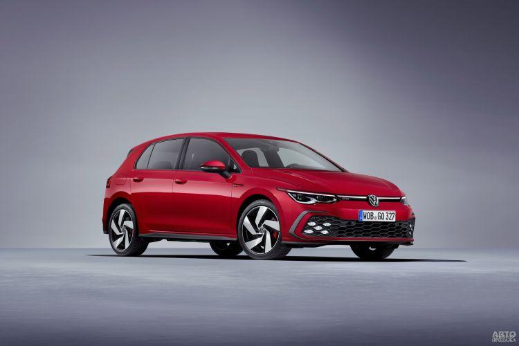 Первые официальные фото нового Volkswagen Golf GTI