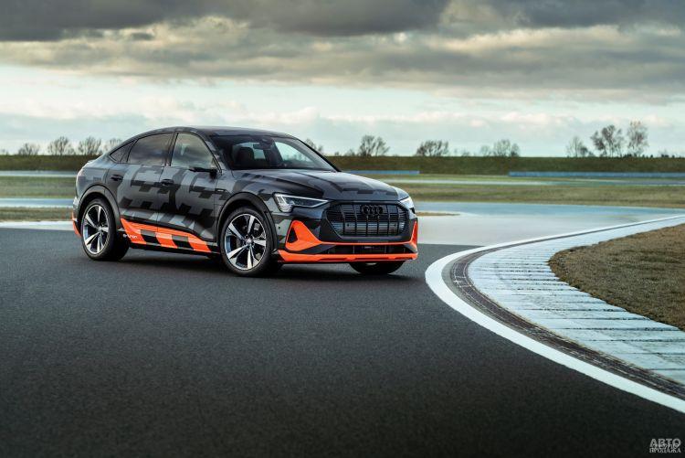 Audi e-tron получит более мощную модификацию