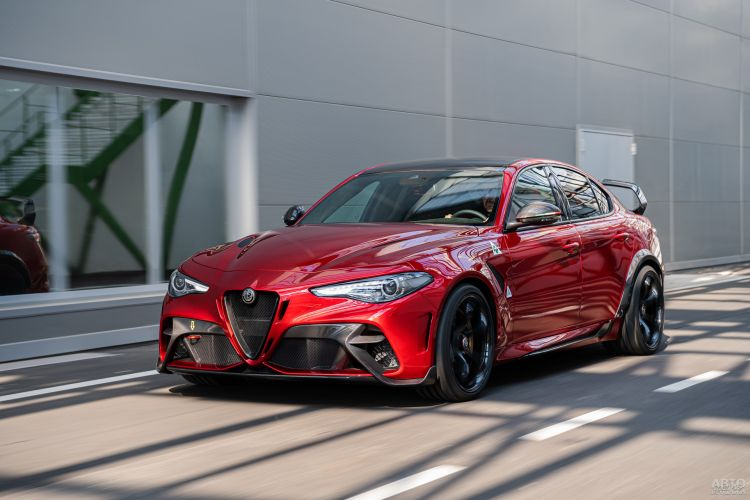 Alfa Romeo Giulia получила новую заряженную версию