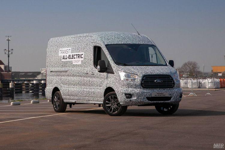 Ford Transit получит электрическую версию