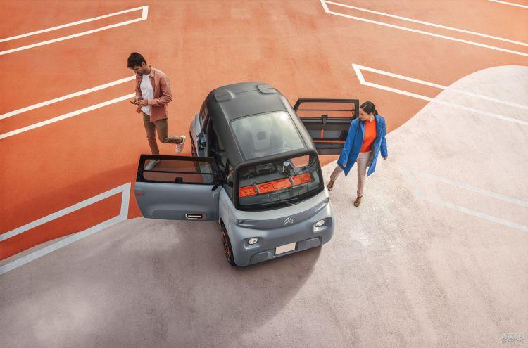 Citroën Ami: для юных автолюбителей