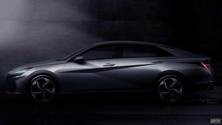 Первые изображения Hyundai Elantra нового поколения