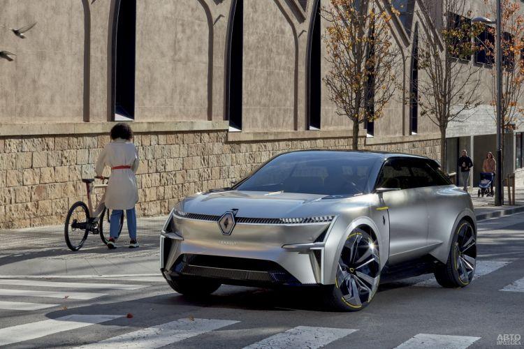 Renault Morphoz: электромобиль-трансформер