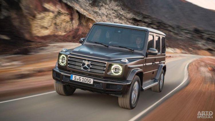 Mercedes-Benz G-Class станет электромобилем