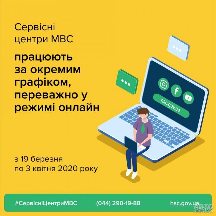 В Украине прекратили работу сервисные центры МВД