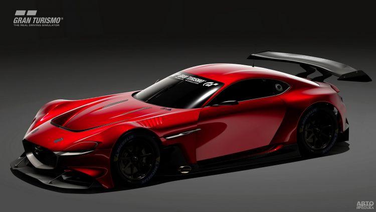 Mazda выпустила автомобиль для компьютерной игры