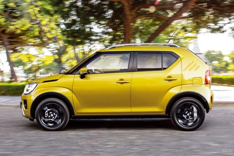 Suzuki Ignis: модернизация
