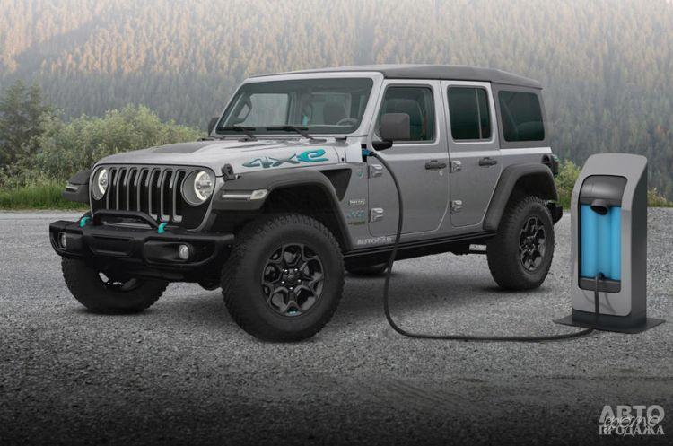 Jeep Wrangler получит гибридную версию