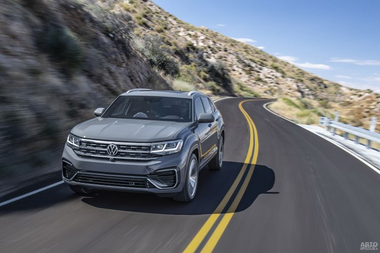 Volkswagen Atlas Cross Sport: пополнение во всежорожной линейке