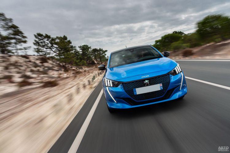 Peugeot e-208: старт электрификации