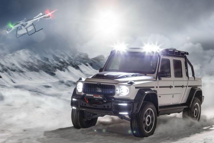 Brabus 800 Adventure XLP: для экстремальных условий