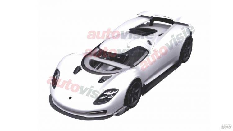 Первые изображения нового флагмана Porsche
