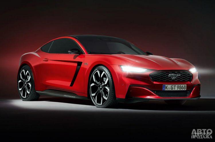 Новый Ford Mustang радикально изменится