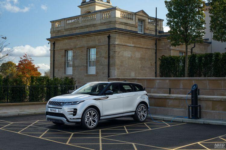 Range Rover Evoque стал гибридом