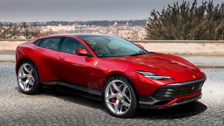 Дебютный вседорожник Ferrari покажут в 2021 году