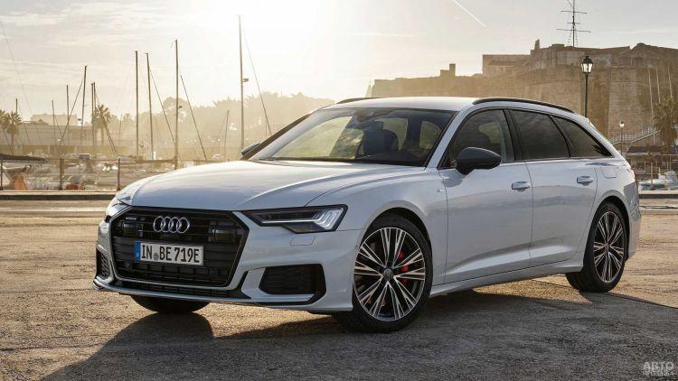Audi A6 стал заряжаемым гибридом