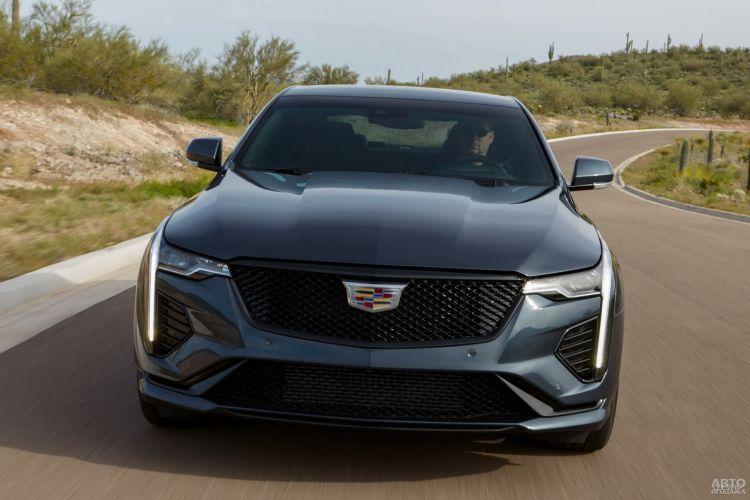 Cadillac CT4: доступный спорт-седан