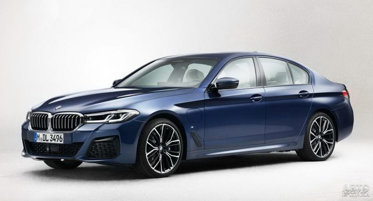 BMW 5 Series пройдет обновление