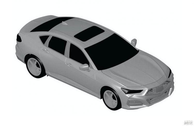 Новая Acura TLX полностью рассекречена