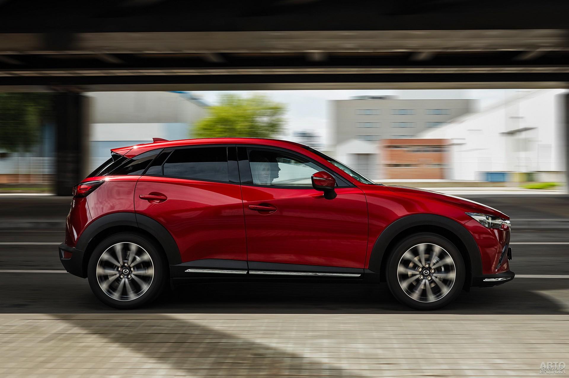Mazda ощутимо легче конкурентов – 1292 кг