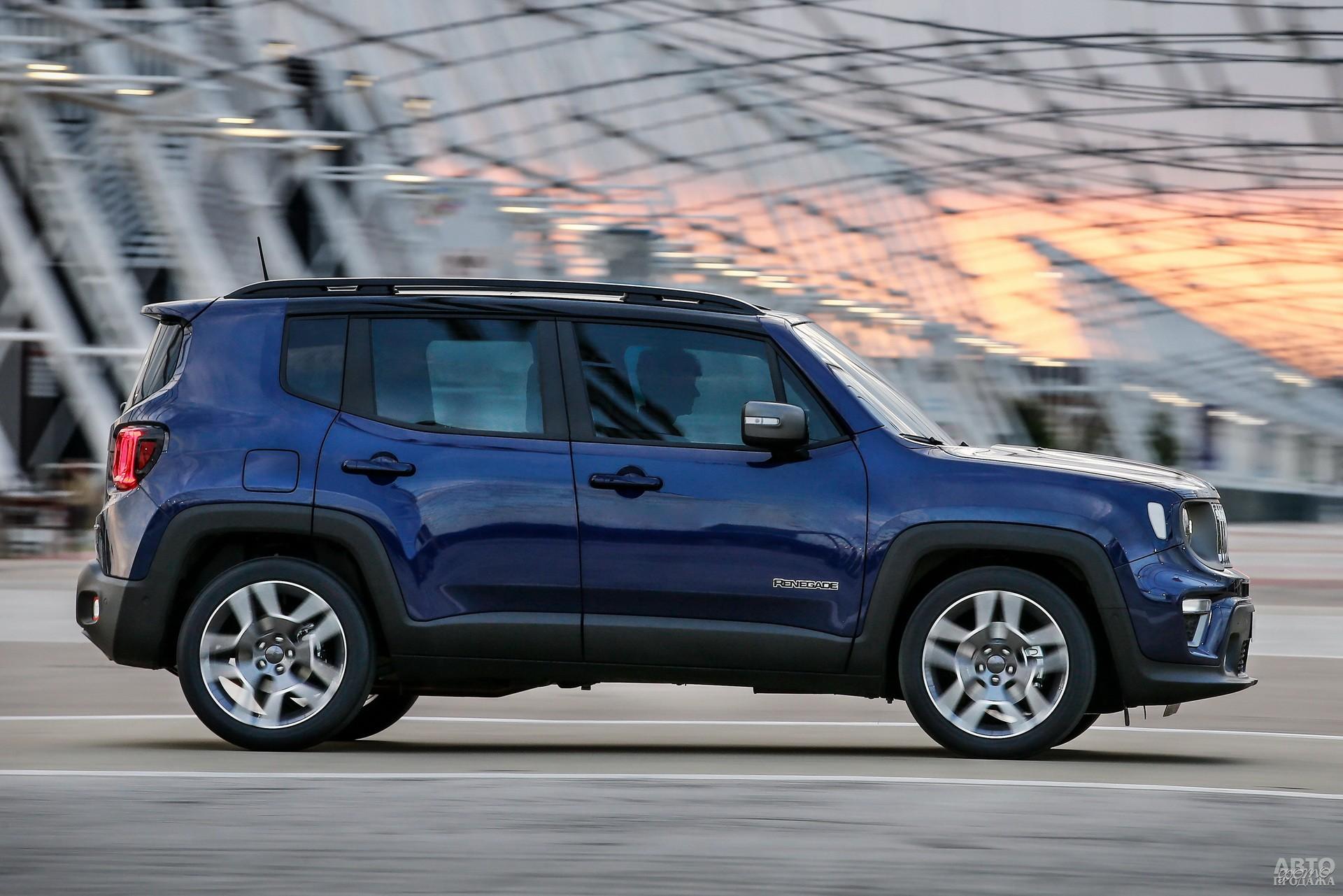 Jeep выше соперников – 1697 мм