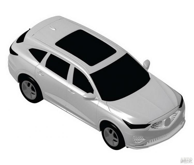 Первые изображения Acura MDX