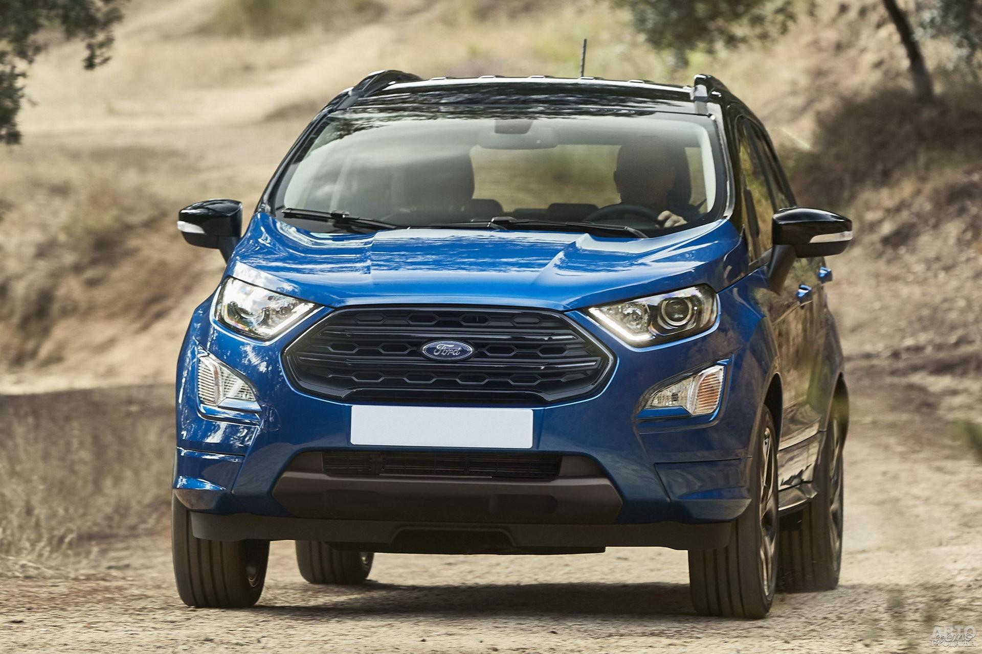 Передняя часть Ford_EcoSport полностью изменена