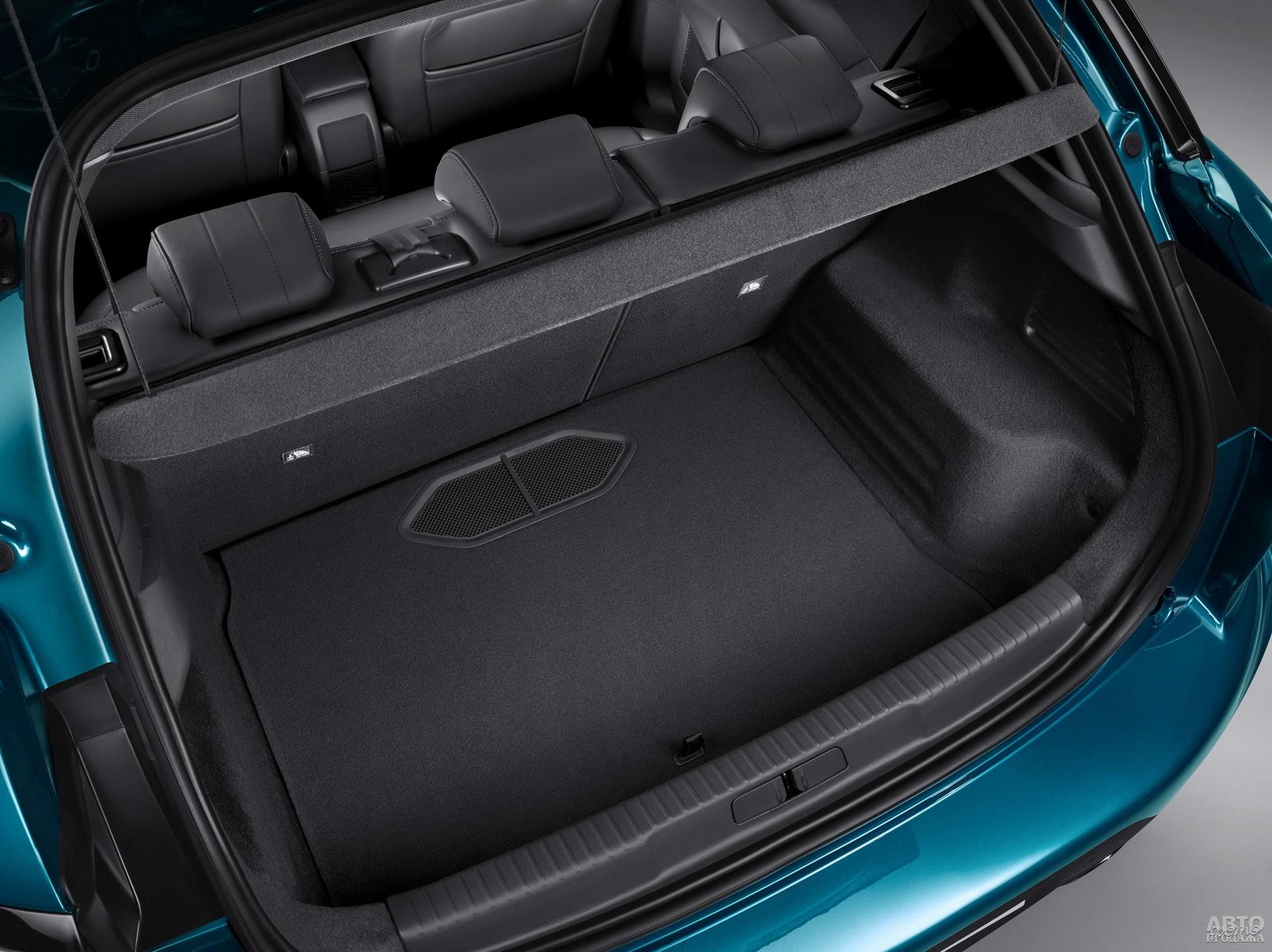Объем багажника DS – 350 л