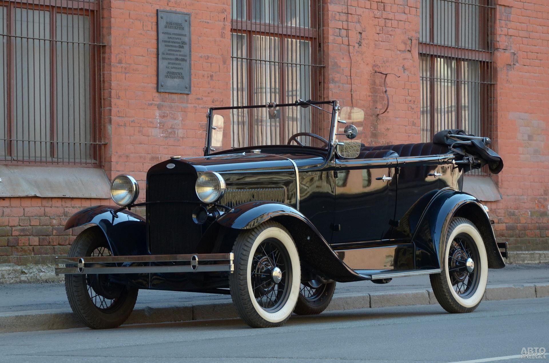 ГАЗ-А 1932 года – лицензионная копия Ford A