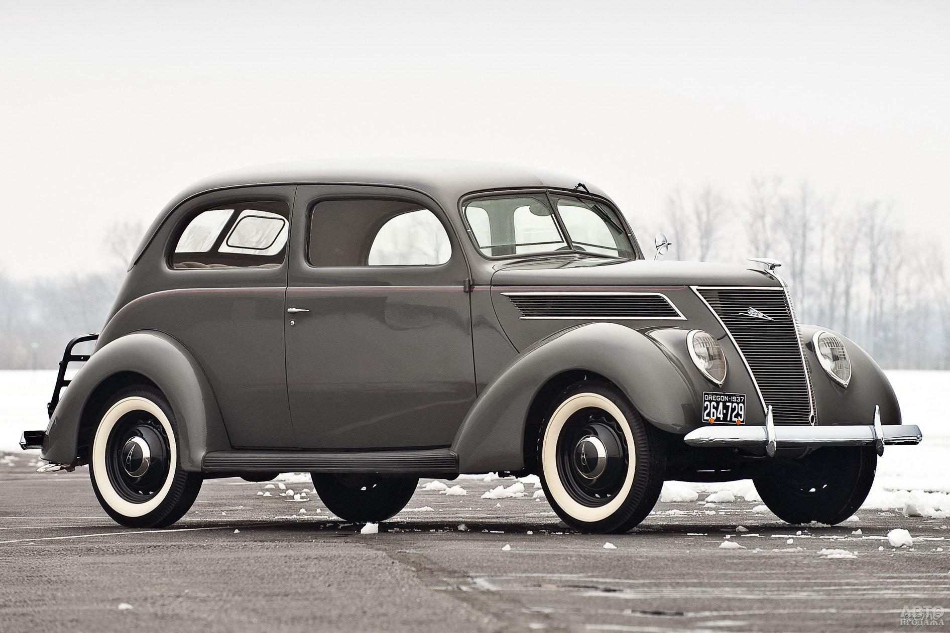 Ford V8 1937 года