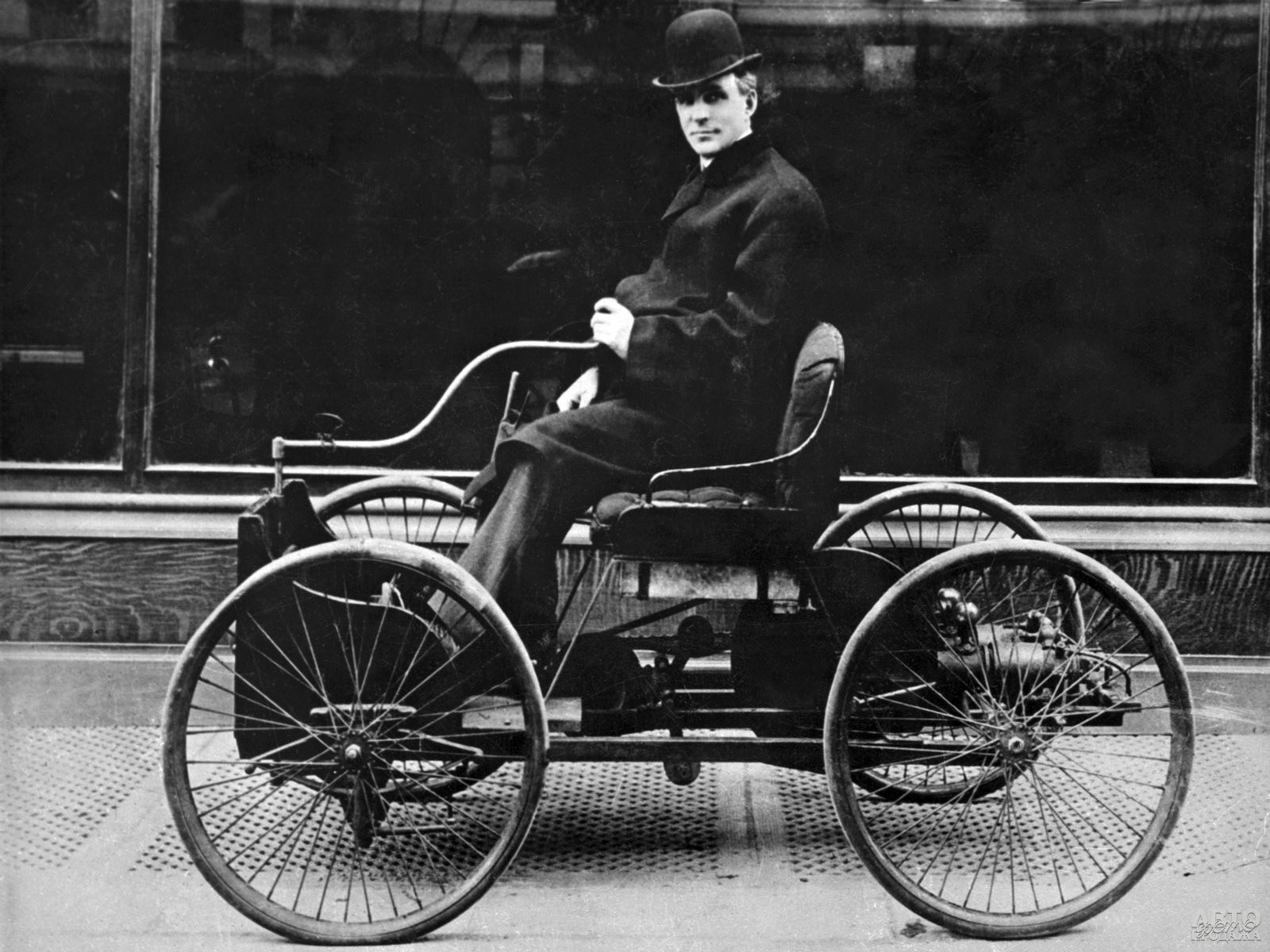 Ford Quadricycle 1896 года