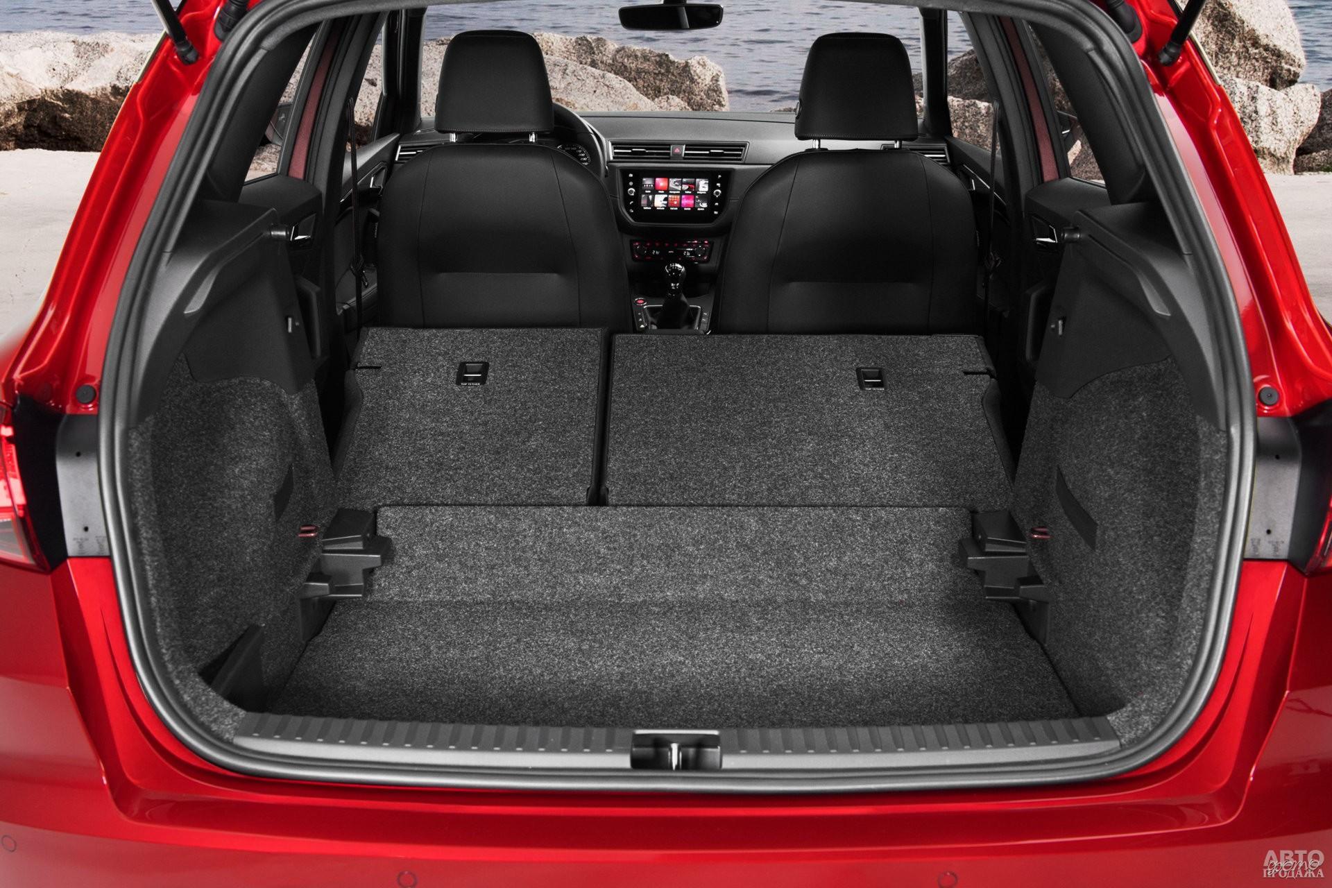 Багажник Seat самый большой – 400 л