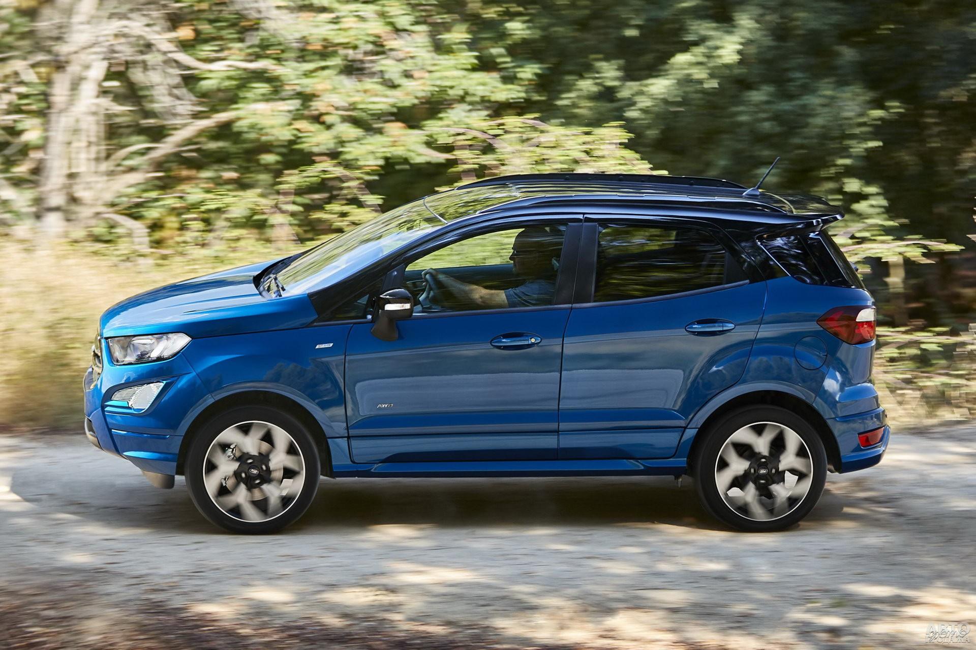 Ford заметно тяжелее соперников - 1349 кг