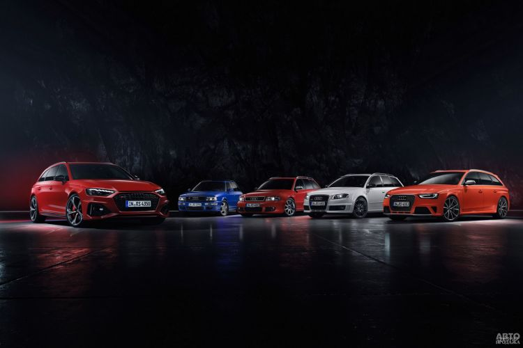Audi RS4 Avant: универсал с характером