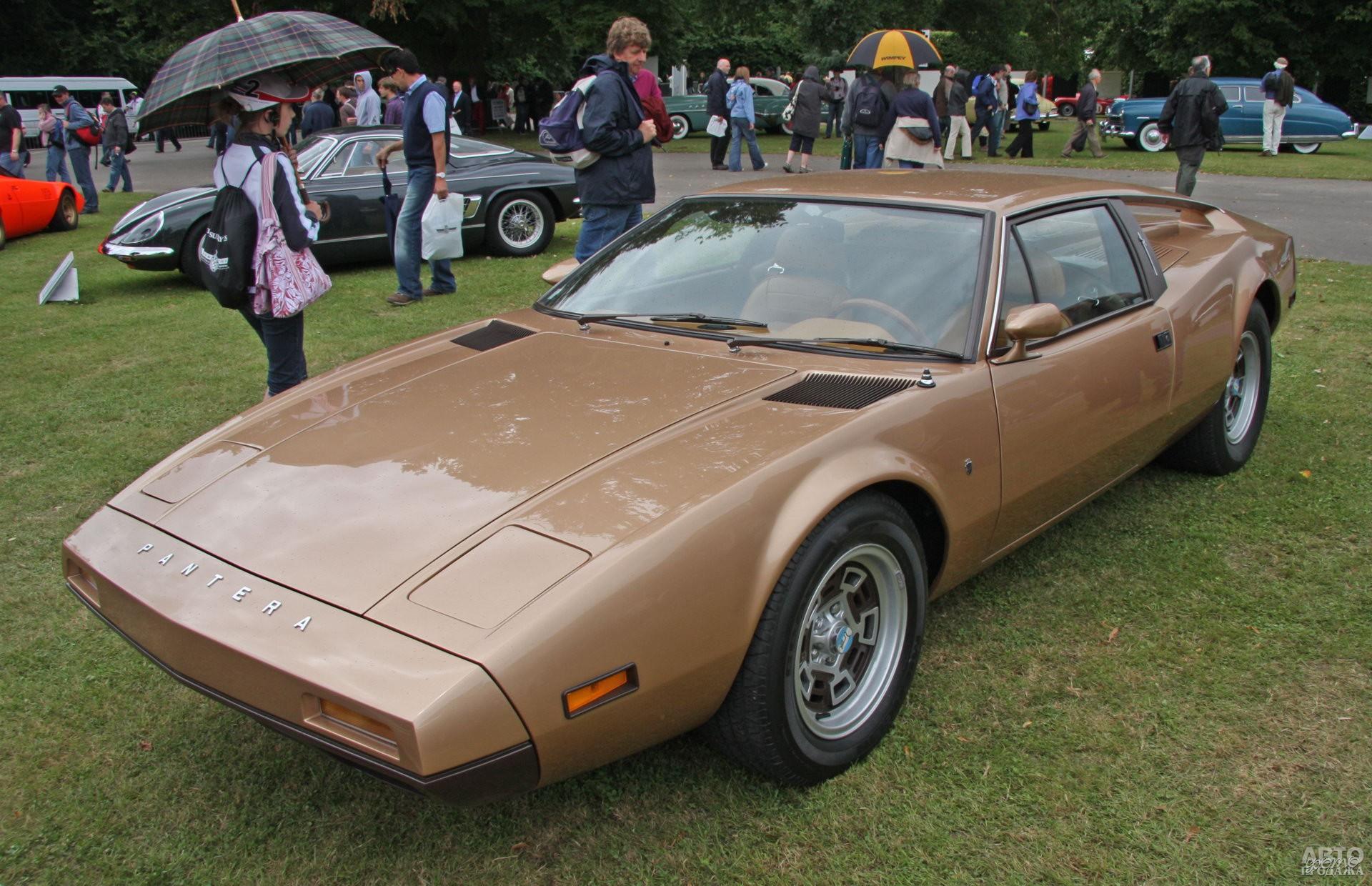 Прототип De Tomaso Pantera второго поколения