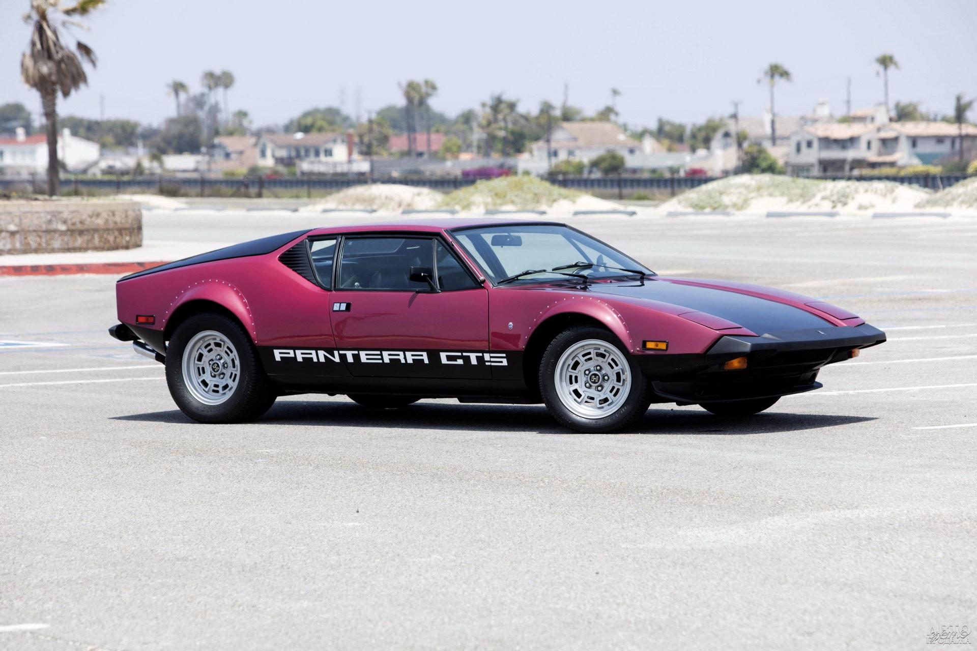 De Tomaso Pantera GTS 1974 года