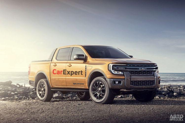 Новый Ford Ranger получит гибридную версию